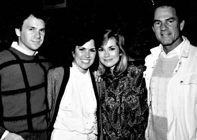 With Shanon, Kathie Lee and Frank Gifford at the Gifford's wedding weekend