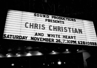 Chris Christian WhiteHeart marquee